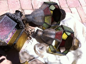 Lucky Duck Living™ home style tip to repurpose lanterns